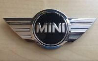MINI Car Rare Boot Metal 3D Chrome BADGE - ONE - WORKS  COOPER Top Quality