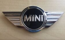 MINI Car Rare Boot Metal 3D Chrome BADGE - ONE - WORKS  COOPER Top Quality