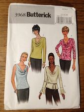 New Butterick Ladies Blouse Top Sewing Pattern Sz 12-14-16