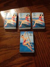 4 vintage cutty sark scots whiskey pin up girls matches match boxes