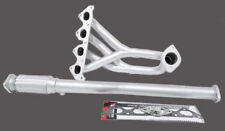 OBX Exhaust Header Fit For 02 03 04 05 06 07 Hyundai Tiburon 2.0L 4 Cyl Silver