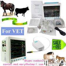 Portable Veterinary Monitor Multiparameter VET Patient Monitor+ CO2,3Y warranty