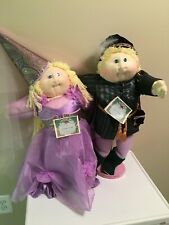 New ListingXavier Roberts Cabbage Patch Soft Sculpture Sleeping Beauty and Prince Charming