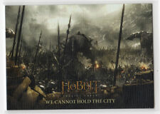 The Hobbit The Battle of the Five Armies - Base Card 54 Canvas Parallel 54/75