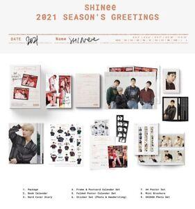[ SHINEE ] - 2021 Season's Greetings Calendar set SEALED + Free Shipping