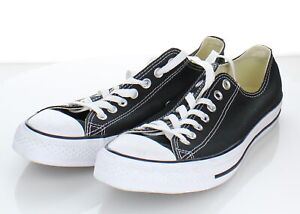 14-20 NEW Men's Size 9 Converse Chuck Taylor All Star Low Top Sneaker In Black