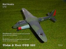Blohm & Voss BVP 202     1/72 Bird Models Resinbausatz / resin kit
