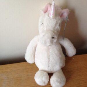 Jellycat Small Bashful Unicorn  Super Soft Toy Comforter BNWT