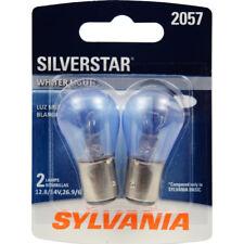Turn Signal Light Bulb-SilverStar Pack TWIN Rear/Front SYLVANIA 2057ST.BP2