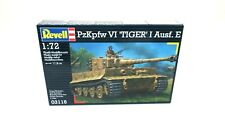Revell PzKpfw VI 'Tiger' I Ausf. E Model Kit 1/72 scale P/N: 03116