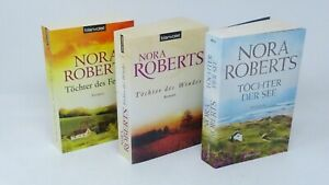 NORA ROBERTS Irland Saga Concannon Sisters Töchter Feuer Wind See 3x Buch