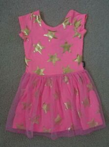 NEW GIRLS BONDS Baby Girls Starstruck Pink Hipster Dress - Size 1 / 12 - 18 mth