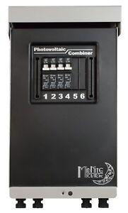 MidNite Solar MNPV4-MC4-LV Pre-Wired Combiner 3R