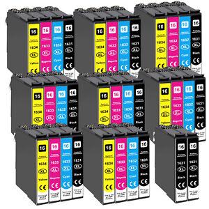 34 XL DRUCKER PATRONEN für Epson WF2510 WF2630WF WF2650DWF WF2660DWF WF2750 2760