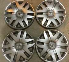 """Set Of 4 61124 Toyota Sienna 16"""" inch Hubcaps Wheelcovers NEW 05 06 07 08 09 10"""