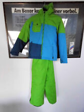 Schneeanzug, Skianzug für Kinder in grün, guter Zustand, Größe 140