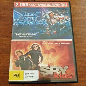 Flight of the Navigator plus Spy Kids DVD R4 Like New! – FREE POST