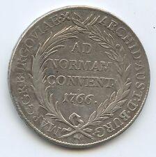 GB1261 - RDR Österreich Günzburg 1 Taler 1766 KM#21 XF Maria Theresia 1740-1780