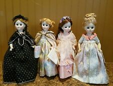 4 MADAME ALEXANDER Dolls FIRST LADIES OF THE UNITED STATES SERIES 3
