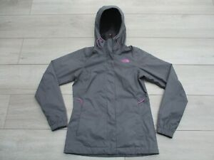 The North Face Womens Resolve Jacket Dryvent Waterproof Rain Coat XS Grey