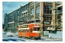 pt9229 - Leeds Tram no 512 to Halton by Lindsay Factory in 1959 - photograph