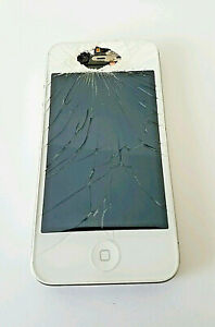 Apple iPhone 4 - 8GB - White (Sprint) Smartphone  works great