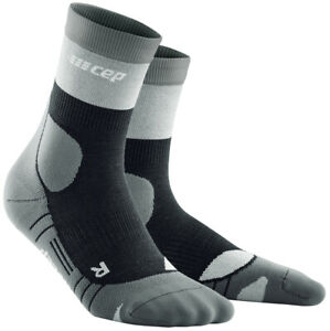 CEP Hiking Light Merino Mid Cut Socks Herren Grau WP3C5