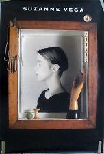 RARE SUZANNE VEGA FUTURE 1990 VINTAGE ORIGINAL MUSIC RECORD STORE PROMO POSTER
