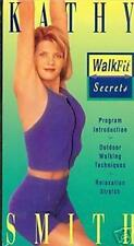 Kathy Smith Walk Fit Secrets Workout Exercise Diet VHS