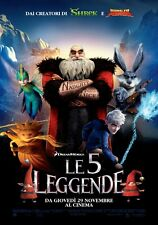 POSTER LOCANDINA LE 5 LEGGENDE RISE OF THE GUARDIANS BABBO NATALE JACK FROST #2