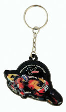 Dani Pedrosa Repsol Honda Moto GP Rubber Keyring Keychain