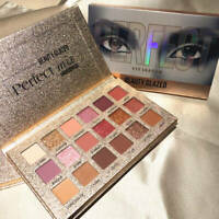 NEW 18 Colors Eye Shadow Palette Matte Glitter Makeup Shimmer Eyeshadow Cosmetic