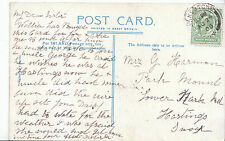 Genealogy Postcard - Family History - Harmann - Hastings - Sussex   V2181