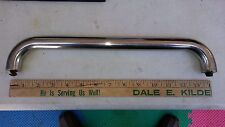 """7YY87 STAINLESS STEEL HANDLE OFF BBQ: 14-1/4"""" X 2-3/8"""" X 1"""" (13-5/16"""" OC)  VGC"""