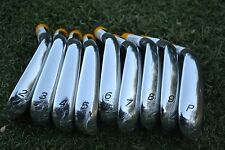 NEW Rare TaylorMade R9 TP IRONS 2-PW TOUR ISSUE HEADS Cavity backs