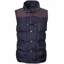 Men's Funnel Neck Gilets Bodywarmers Waist Length Zip Coats & Jackets