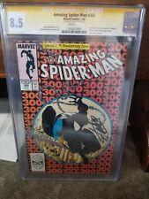 Amazing Spiderman #300 Signed by Stan Lee Graded CGC 8.5 Signature Series Venom