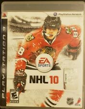NHL 10 (Sony PlayStation 3, 2009) Complete  With Manual Hockey Game PS3