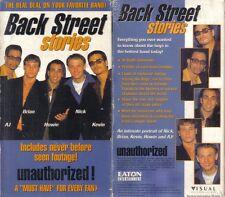 VHS: BACK STREET STORIES...BACKSTREET BOYS....NEW