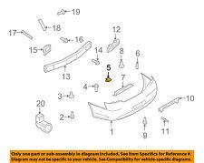 Infiniti NISSAN OEM 14-17 Q50 Rear Bumper-Bumper Cover Clip 85284EG000