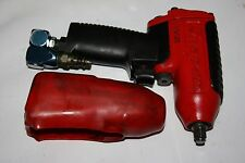 "SNAP-ON TOOLS MG325 3/8"" DRIVE IMPACT AIR WRENCH W/BOOT & Swivel AIR HOSE YA502M"