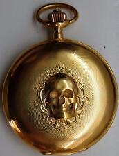 MUSEUM 14k gold A1 grade chronometer Louis Audemars Memento Mori Skull watch