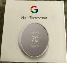 Google Nest Thermostat G4Cvz Smart Thermostat Wifi - Snow Ga01334-Us - Used