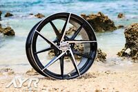 "18"" ALLOY WHEELS FLOW FORM FORGED LIGHTWEIGHT AYR 03 VF 5X112 ET45 FOR AUDI 1"