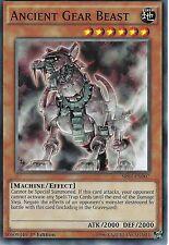 YU-GI-OH CARD: ANCIENT GEAR BEAST - SR03-EN007 - 1ST EDITION