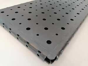 Schweißtisch Lochtisch Lochplatte 800 mm x 400 mm x 30 mm Lochplatte