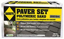 50LB GRAY Paver Set Polymeric Sand Sakrete #65300036 Premium Product 111725