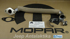EGR to Manifold Pipe Set Jeep Cherokee KJ 2007 2.8CRD New Genuine OEM Mopar