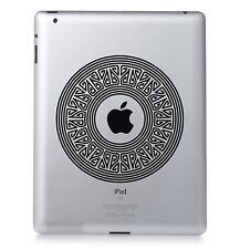 motif #03 Apple Ipad Mac MacBook PC PORTABLE autocollant vinyle décalcomanie.