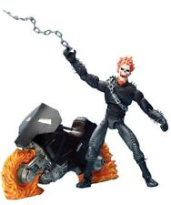 ToyBiz Marvel Legends Ghost Rider Series III 3 w/ Motorcycle and Comic Book 2002